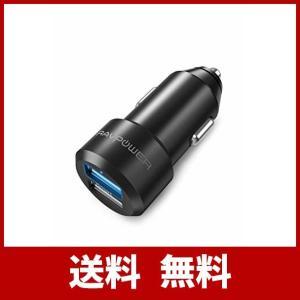 RAVPower 小型 2ポート USBシガーソケットチャージャー RP-VC006   仕様  入...