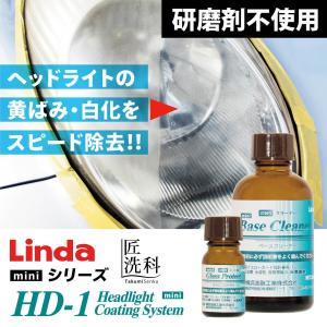 Linda ヘッドライト コーティングシステム HD-1 mini|yof