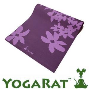 YOGARAT ヨガラット ヨガマット 6mm バイオレット/ラベンダー 送料無料<br>ヨガ,ピラティス,マット,ヨガマット,柄<br><br>(10002109)|yoga-pi