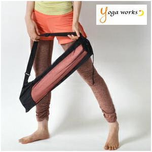 ヨガマット バッグ ケース ヨガワークス ヨガマット ケース メッシュバッグ 6mm対応 yogaworks メール便送料無料|yoga-pi