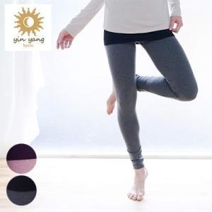 インヤン yinyang オーガニックフィットスキニー ヨガウェア ヨガパンツ レギンス|yoga-pi