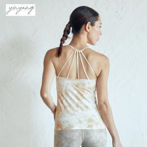 インヤン ヨガウェア トップス yinyang キャミソール シェルタンク|yoga-pi