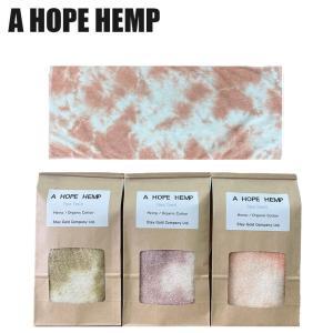 a hope hemp  ア ホープヘンプ フェイスタオル タオル ヘンプ オーガニックコットン ベンガラ 染め|yoga-pi