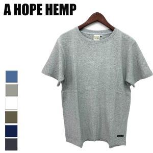 a hope hemp Tシャツ メンズ レディース アホープヘンプ ヘンプ 服 Tシャツ レギュラー S/S TEE 定番 yoga-pi