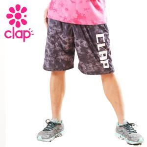 CLAP クラップ フィットネス ウェア レディース ハーフパンツ タイダイ|yoga-pi
