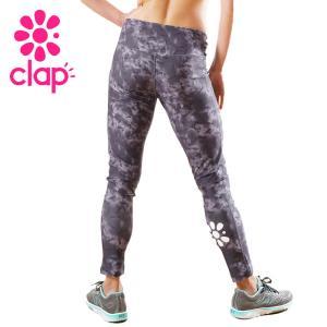 CLAP クラップ フィットネス ウェア レギンス タイダイ yoga-pi