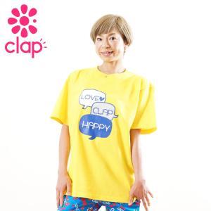 クラップ フィットネス ウェア CLAP Tシャツ ベーシックT COMMENT|yoga-pi