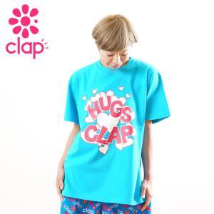 クラップ フィットネス ウェア CLAP Tシャツ ベーシックT HUGS-CLAP yoga-pi