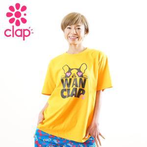クラップ フィットネス ウェア CLAP Tシャツ ベーシックT WAN-CLAP yoga-pi