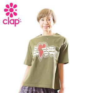 クラップ フィットネス ウェア CLAP Tシャツ ビッグTシャツ C-graffiti yoga-pi