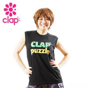 クラップ フィットネス ウェア CLAP タンクトップ トレーニングタンク puzzle|yoga-pi