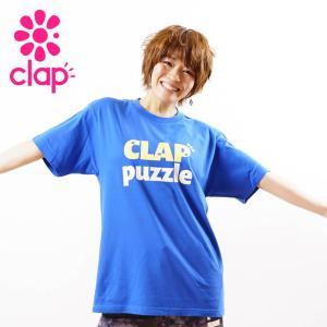 クラップ フィットネス ウェア CLAP Tシャツ ベーシックT puzzle|yoga-pi