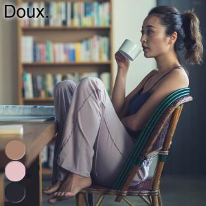 doux ワンマイルウェア ウーリーパンツ ルームウェア パジャマ ホームウェア ヨガ ピラティス|yoga-pi