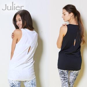 ジュリエ Julier ヨガウェア トップス タンクトップ バッククロスタンクトップ jub-014 ヨガブランド ヨガ ピラティス ウェア|yoga-pi