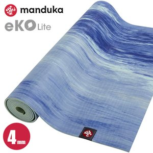 マンドゥカ  MANDUKA ヨガマット eko lite エコライト 約4mm サーフマーブル yoga-pi