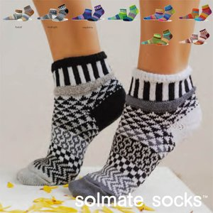 ソルメイト SOLMATE SOCKS クォーター 靴下 ソックス メンズ レディース 日本正規品|yoga-pi