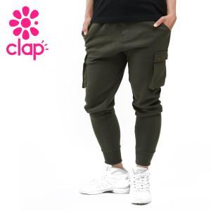 CLAP クラップ フィットネスウェア スウェットパンツ カーゴパンツ|yoga-pi