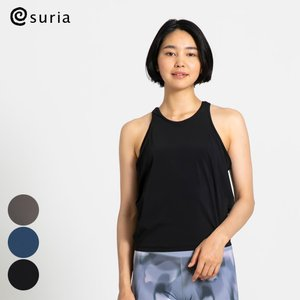 スリア SURIA ヨガウェア トップス カップ付き ピカールタンク|yoga-pi