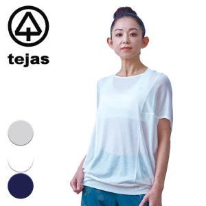 テジャス tejas ヨガウェア レディース トップス Tシャツ 半袖 asman-tops 2021ss 春夏新作 yoga-pi