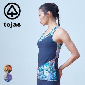 テジャス tejas ヨガウェア レディース トップス クスマタンク 2021ss 春夏新作 yoga-pi