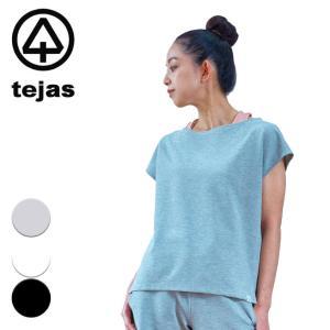 テジャス tejas ヨガウェア レディース トップス Tシャツ 半袖 indrani-tops 2021ss 春夏新作 yoga-pi