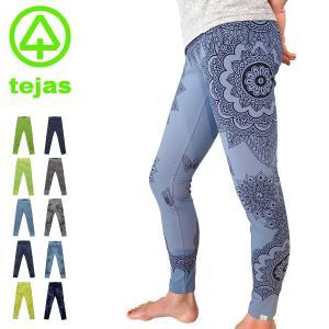 ヨガウェア ヨガパンツ レギンス tejas テジャス [TL72540] karinleggings 柄 ヨガウェア ヨガ パンツ ブランド レギンス|yoga-pi