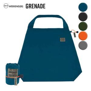 weekend(er) grenade ウィークエンダー グレネード エコバッグ  折りたたみ コンパクト ショッピングバッグ マイバッグ weekend er ヘミングス yoga-pi