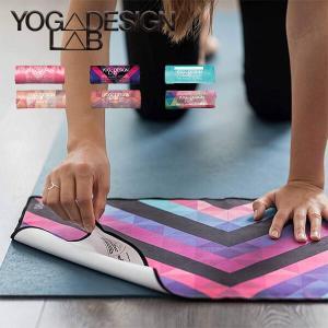 ヨガデザインラボ  エコハンドタオル  ヨガラグ ヨガマット タオル 滑り止め付き YogaDesignLab