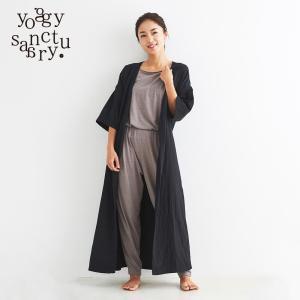 ヨギーサンクチュアリ  ヨガウェア サマーラップドレス yoggy sanctuary yoga-pi