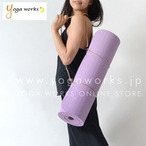 ヨガマット ケース バッグ ヨガワークス キャリーロープ yogaworks 6mmヨガマット対応 メール便送料無料|yoga-pi