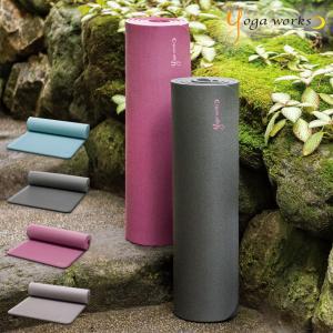 ヨガワークス ピラティスマット 12mm yogaworks ヨガマット ヨガ ピラティス マット|yoga-pi