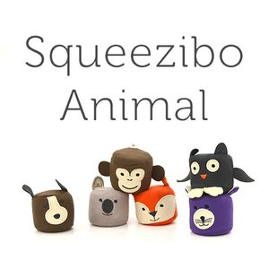 Yogibo Squeezibo Animal / ヨギボー スクイージボー アニマル / 快適すぎて動けなくなる魔法のソファ / ストレス解消 グッズ / リラックス|yogibo