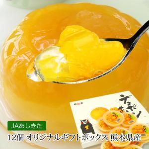 ゼリー デコポンゼリー 12個入 熊本 JAあしきた 送料無料 デコポン でこぽん 柑橘類 果物 フ...