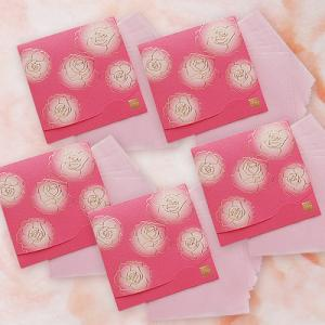 ぼかし染め香りローズ おまとめ5冊! 方形サイズ|yohira