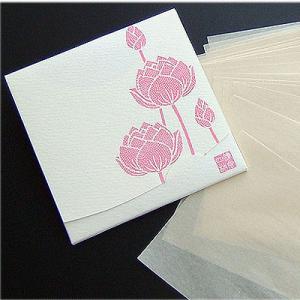 蓮【オフホワイト】 「絹すき」 方形サイズ yohira