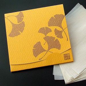 銀杏・いちょう   「絹すき」 方形サイズ|yohira
