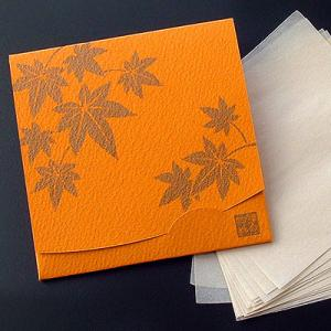紅葉・もみじ 「絹すき」   方形サイズ|yohira