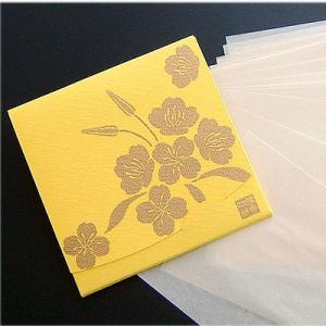 月見草【黄色】  「絹すき」 方形サイズ yohira