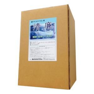 純アルカリイオン水 清廉18L