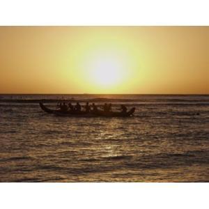 Hawaii ハワイ ワイキキ 夕日 (No.3) 2240pix×1680pix|yojigon