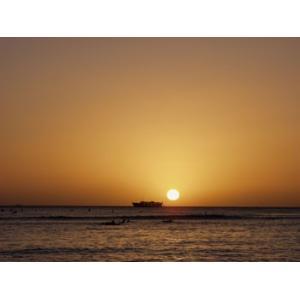 Hawaii ハワイ ワイキキ 夕日 (No.4) 2240pix×1680pix|yojigon