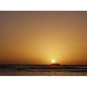 Hawaii ハワイ ワイキキ 夕日 (No.5) 2240pix×1680pix|yojigon