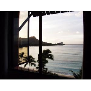 Hawaii ハワイ ワイキキ 早朝 (No.1) 2240pix×1680pix|yojigon