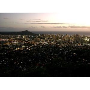 Hawaii ハワイ タンタラスの丘 夜景(No.4) 2210pix×1620pix|yojigon