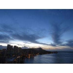 Hawaii ハワイ ワイキキ 夕暮れ(No.1) 4000pix×3000pix|yojigon