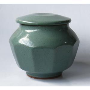 倉敷羽島焼 蓋物|yojigon