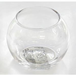 手作りガラス 丸型金魚鉢ビューレット クリア(SS)|yojigon
