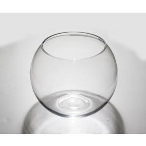 手作りガラス 丸型金魚鉢ビューレット クリア(2L)|yojigon