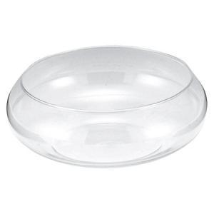 手作りガラス フローティングベース クリア(L)|yojigon