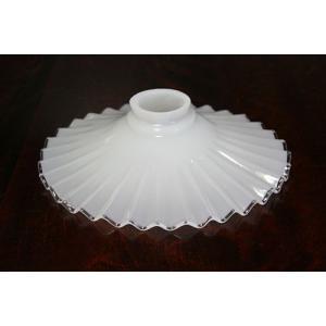ミルクグラス ランプシェード:電気笠 HS205|yojigon
